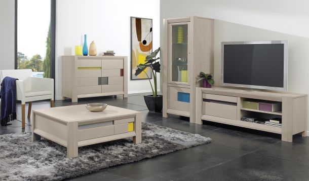 gamme ch ne et incrustrations aravis meubles. Black Bedroom Furniture Sets. Home Design Ideas