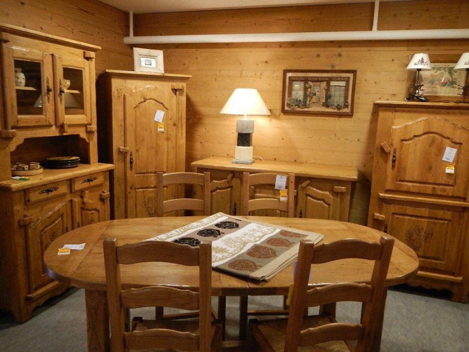 meubles en ch ne campagnard aravis meubles. Black Bedroom Furniture Sets. Home Design Ideas